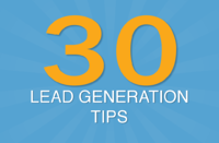 An eBook giving actionalble lead generation tips to help a business achieve more internet leads